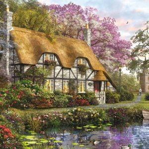 The Gardener's Cottage 1000 Piece Jigsaw Puzzle