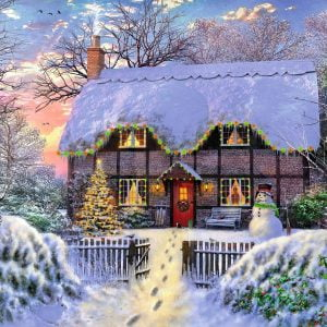 The Writer's Cottage 1000 Piece Jigsaw Puzzle - Falcon De Luxe