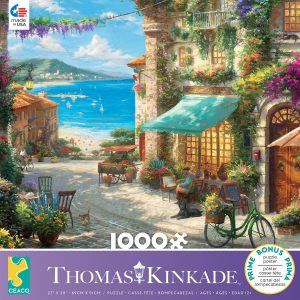 Thomas KinKade - Italian Cafe 1000 Piece Jigsaw Puzzle - Ceaco