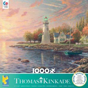 Thomas Kinkade - Serenity Cove 1000 Piece Jigsaw Puzzle - Ceaco