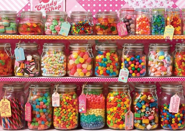 Treats N Treasures - Candy Counter 1000 Piece Jigsaw Puzzle - Holdson