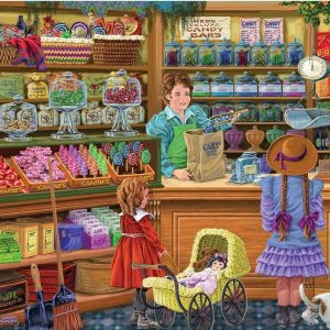 Shopkeepers - Cary's Candy Treats 1000 Piece Puzzle - Holdson