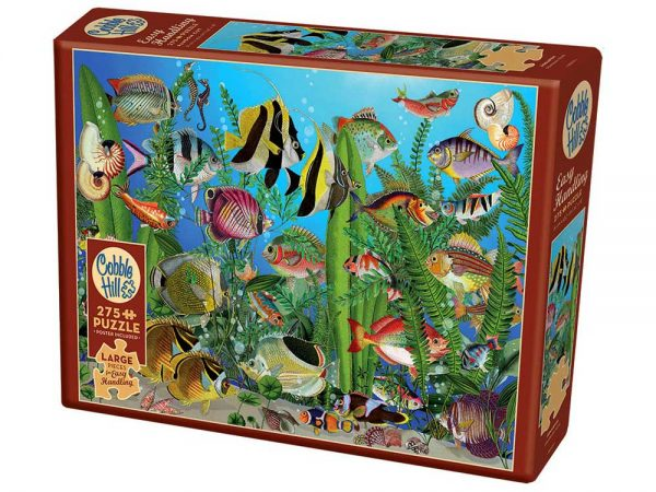 Aquarium 275 XL Piece Jigsaw Puzzle - Cobble Hill