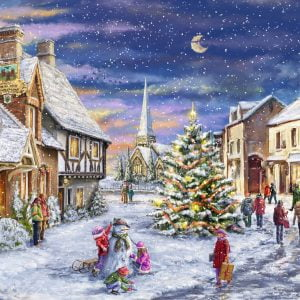 Christmas Village 1000 Piece Jigsaw Puzzle - Ravensburger