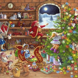 Countdown to Christmas 1000 Piece Jigsa