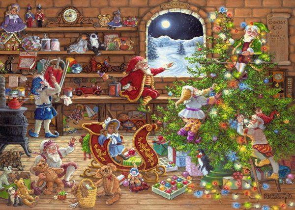 Countdown to Christmas 1000 Piece Jigsa