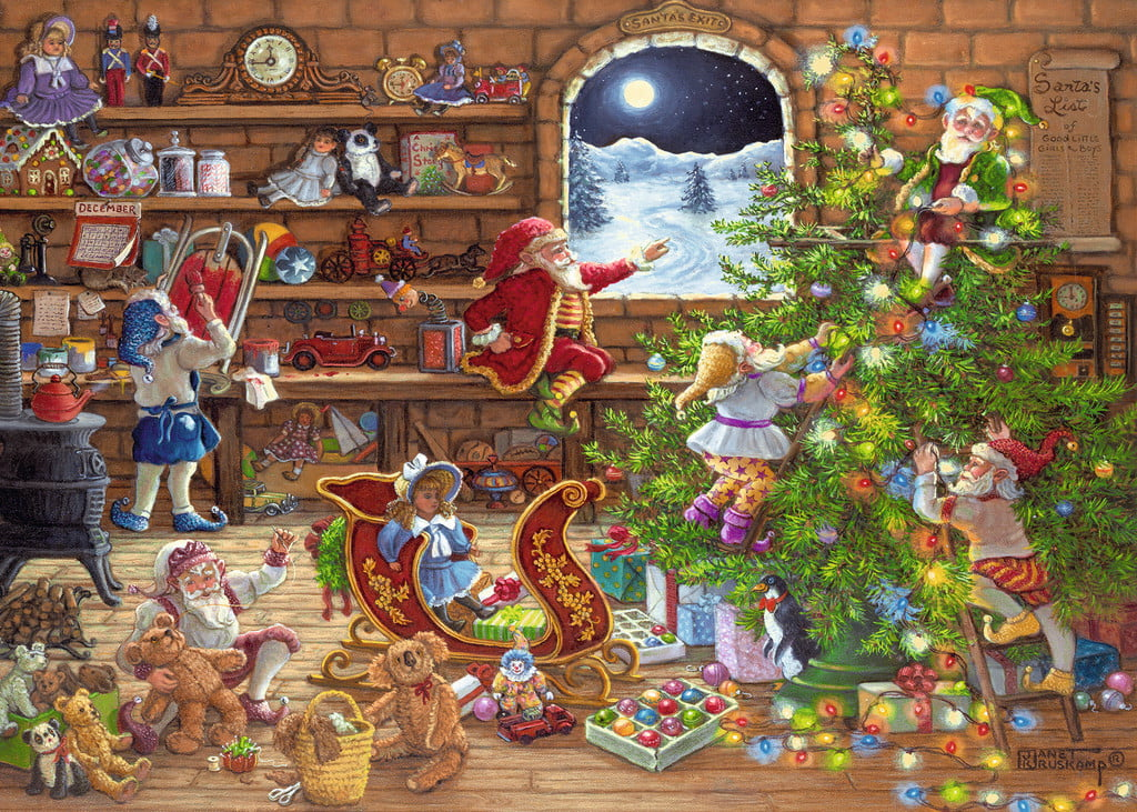 Christmas Jigsaw Puzzle Countdown To Christmas 1000 Pc