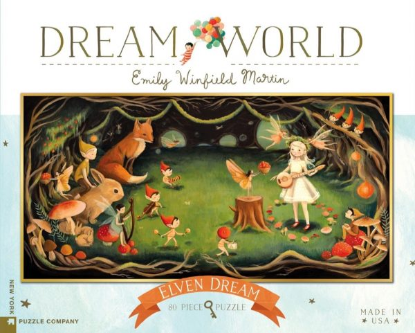 Dream World - Elven Dream 80 Piece Jigsaw Puzzle