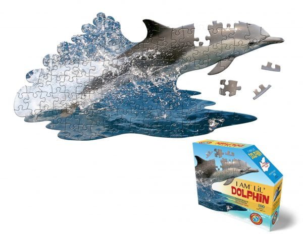 Madd Capp - I am Lil' Dolphin 100 Piece Shaped Puzzle