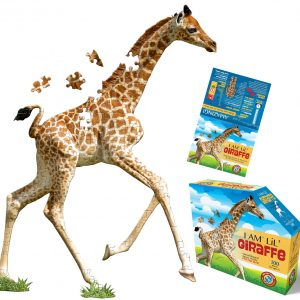 Madd Capp - I am Lil Giraffe 100 Piece Shaped Puzzle