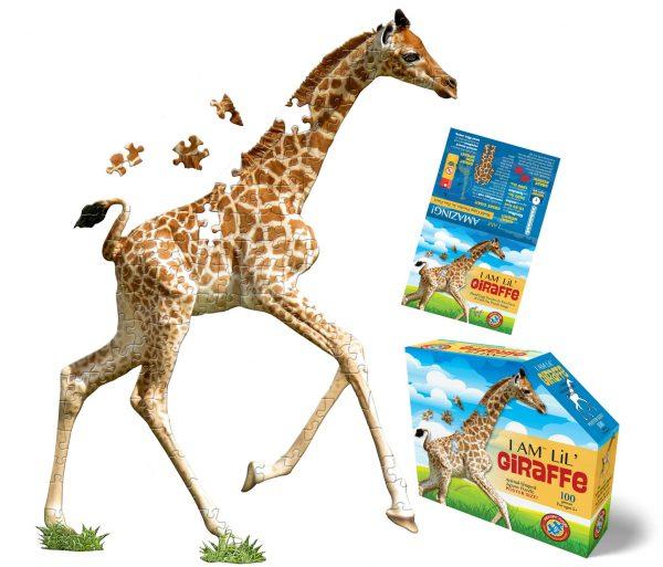 Madd Capp - I am Lil Giraffe 100 Piece Shaped Puzzle