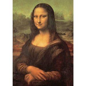 Mona Lisa 2000 Piece Jigaw Puzzle - Tomax
