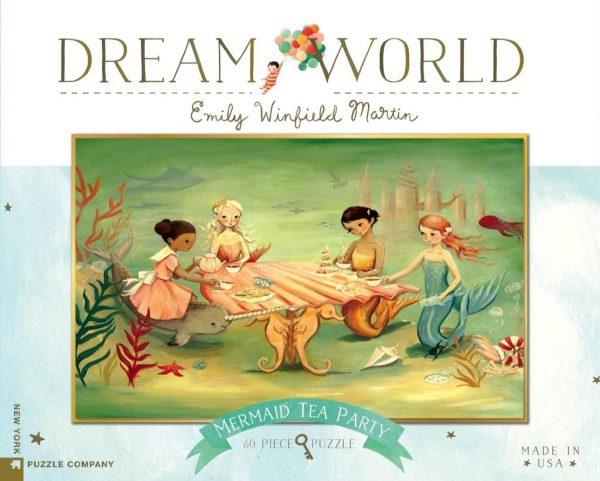 Dream World - Mermaid Tea Party 60 Piece Jigsaw Puzzle