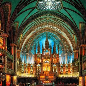Notre-Dame De Montreal, Canada 2000 pIECE Jigsaw Puzzle - Tomax