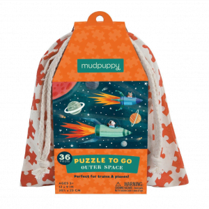 Puzzle to Go - Outer Space Mudpuppy