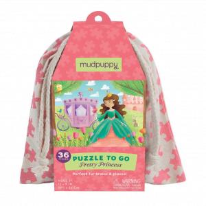 Puzzle to Go - Pretty Princess Mudpuppy