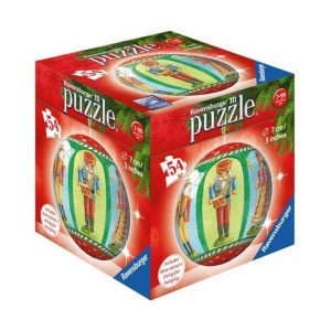 3D PUZZLEBALL CHRISTMAS ORNAMENT 54 PIECE - RAVENSBURGER