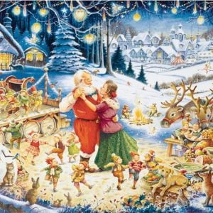 Santa's Christmas Party 1000 Piece Jigsaw Puzzle- Ravensburger