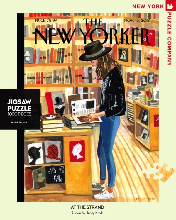 The New Yorker - At the Strand 1000 Piece Jigsaw Puzzle