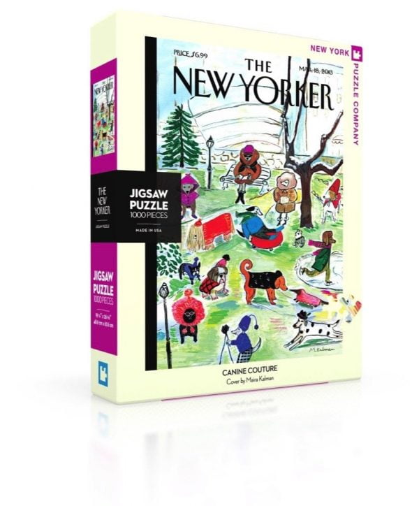 The New Yorker - Canina Couture 1000 Piece Jigsaw Puzzle