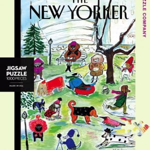 The New Yorker - Canine Couture 1000 Piece Jigsaw Puzzle