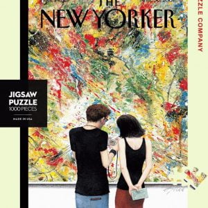 The New Yorker - Paint by Pixels 1000 Piece Jigsaw Puzzle