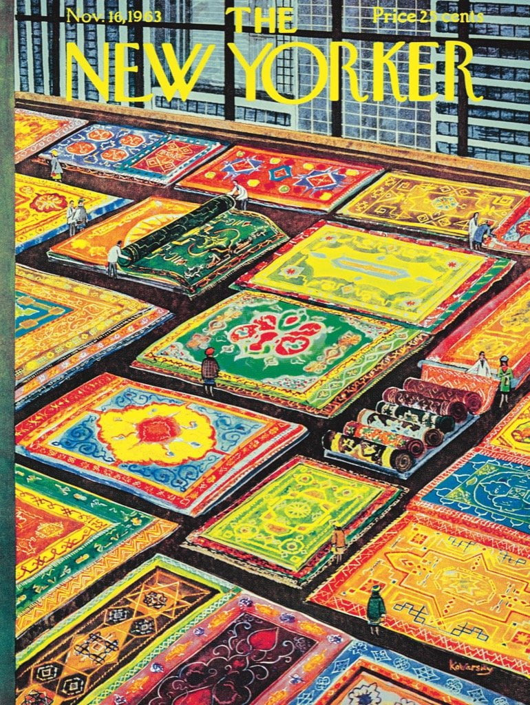 Jigsaw Puzzle Rug Shopping 1000 Piece New York Puzzle