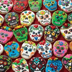 Treats N Treasures - Sugar Skulls 1000 Piece Jigsaw Puzzle
