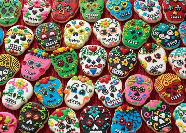 Treats N Treasures - Sugar Skulls 1000 Piece Jigsaw Puzzle