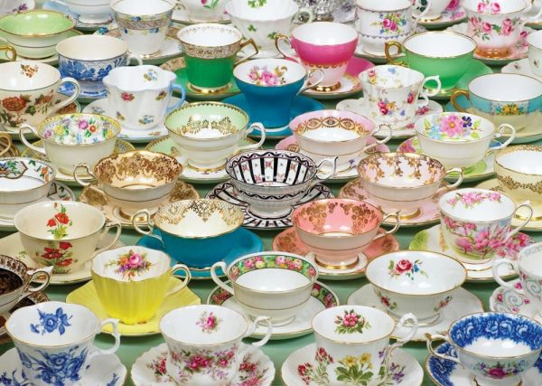 Treats N Treasures - Teacups 1000 Piece Jigsaw Puzzle - Holdson