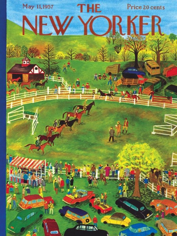 The New Yorker - Horse Show 1000 Piece Jigsaw Puzzle