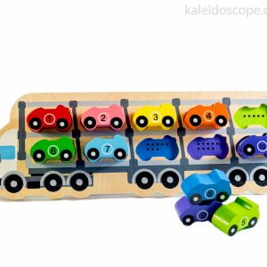 1-10 Car Puzzle - Kiddie Connect