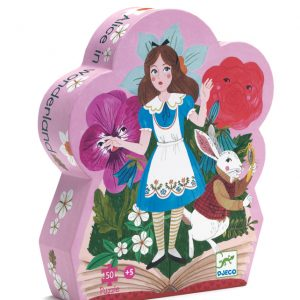 Alice in Wonderland 50 Piece Jigsaw Puzzle - Djeco