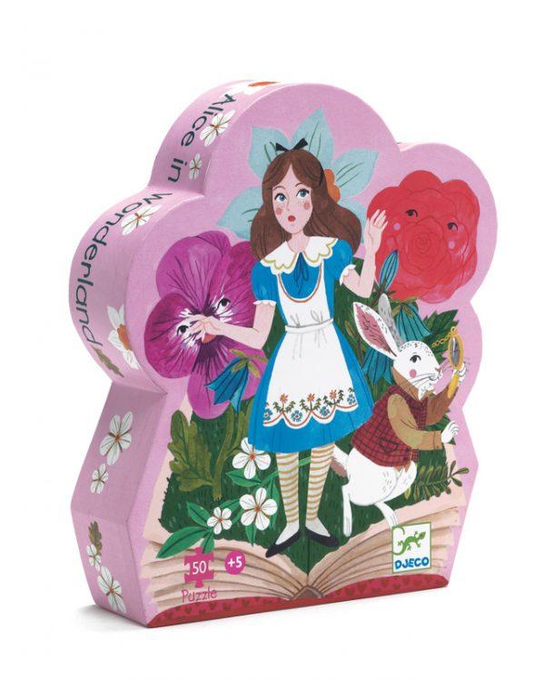 Alice in Wonderland 50 Piece Jigsaw Puzzle - Djeco