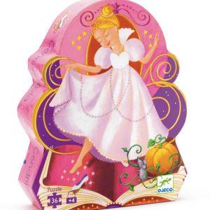 Cinderella 36 Piece Jigsaw Puzzle - Djeco