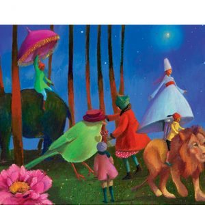 Wonderful Walk 350 Piece Jigsaw Puzzle - Djeco