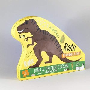 Dinosaur 40 Piece Jigsaw Puzzle - Floss & Rock