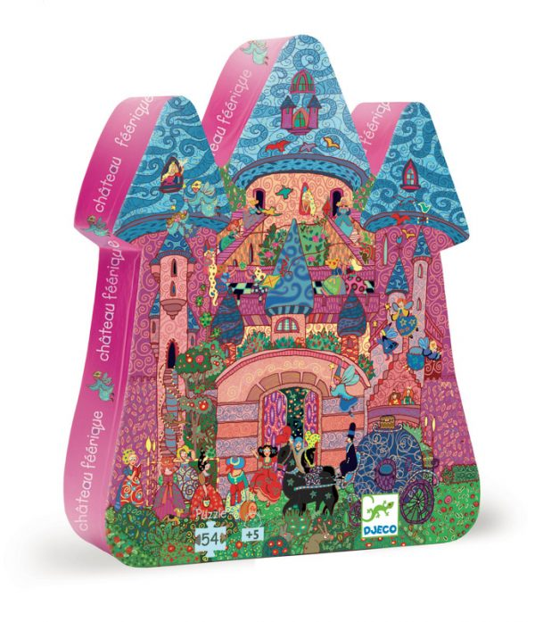 Fairy Castle 54 Piece Jigsaw Puzzle - Djeco