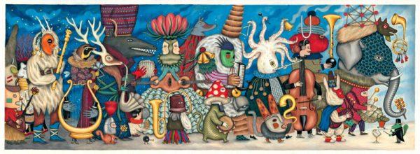 Fantasy Orchestra 500 Piece Jigsaw Puzzle - Djeco