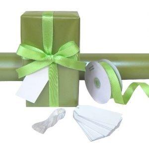 Gift Wrap Set - Pearl Moss