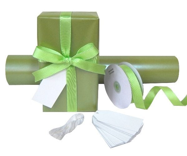 Gift Wrap Set - Pearl Moss
