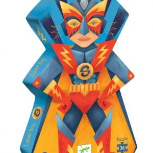 Laser Boy 36 Piece Jigsaw Puzzle - Djeco