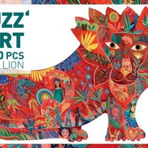 Lion Puzzle Art 150 Piece Jigsaw Puzzle - Djeco
