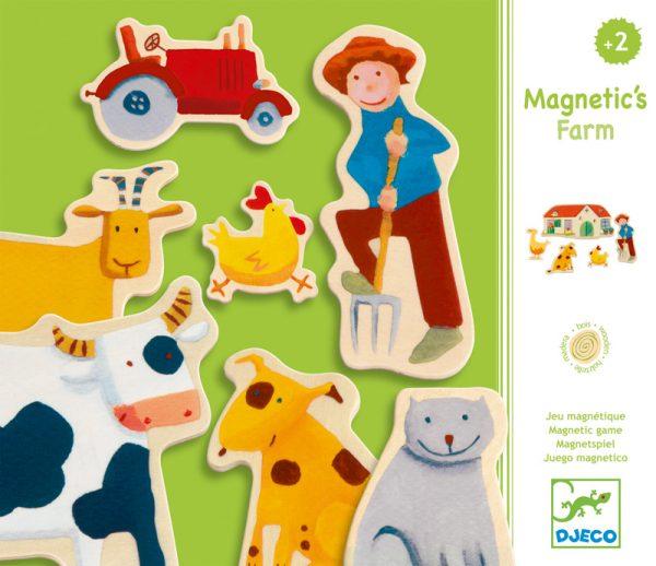 Magnetics - Farm Djeco