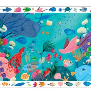 Observation Puzzle - Aquatic 54 Piece - Djeco