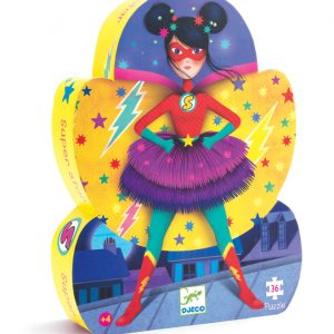 Super Star 36 Piece Jigsaw Puzzle - Djeco