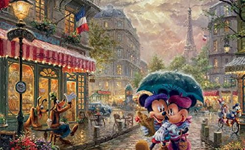 Thomas Kinkade 4 -in-1 MultiPack Puzzles (500 Piece Each)