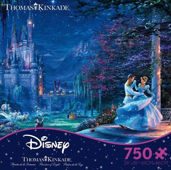 Thomas Kinkade Disney - Cinderella Starlight 750 Piece Puzzle