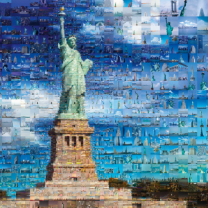 Tsevis New York Photomosaic 1000 Piece Puzzle - Schmidt