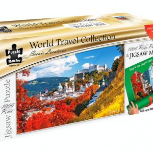 World Travel Collection - Jigsaw Mat + Salzburg